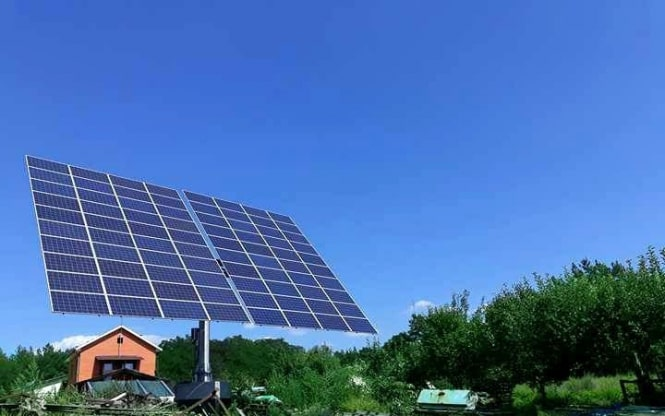 Встановлено найбільший в Україні сонячний трекер