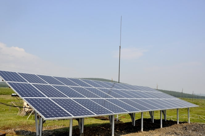 Single-axis solar trackers increase the power plant efficiency by 15 - 17%