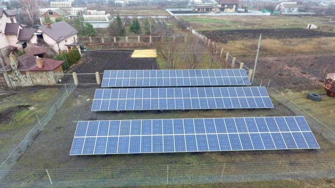 30 kW solar power plant has been put into operation in Dnipropetrivsk region.