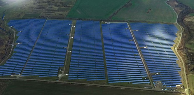 The construction of 18 MW solar power plant has been completed